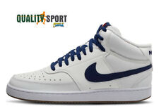Nike Court Vision Mid Bianco Blu Scarpe Uomo Sportive Sneakers CD5466 104 2020
