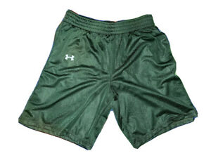 UNDER ARMOUR Women's Triple Double Long Basketball Shorts Size S Small Green