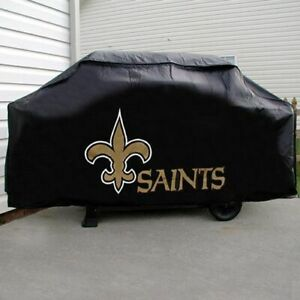 """NEW ORLEANS SAINTS ECONOMY GRILL COVER  VINYL 68"""" BBQ COVER FREE SHIPPING"""