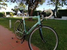 Bici corsa Bianchi in alluminio e carbonio - Via Nirone - misura 61 - anno 2012