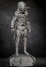 1/24 Resin Figure Model Kit Predator Warrior Alien Unpainted Unassambled