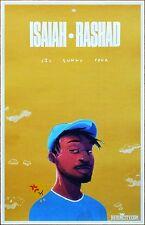 ISAIAH RASHAD Lil Sunny Tour 2017 Ltd Ed RARE Poster +FREE Hip-Hop Rap Poster!