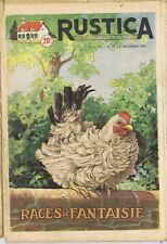 Rustica 49 04/12/1955 Poules Races de fantaisie
