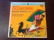 "NELSON RIDDLE Oklahoma CAPITOL EAP 2-596 7"" EP 45 RPM 1"