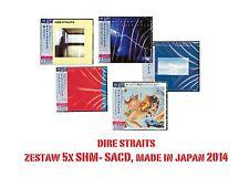 5xCD bundle DIRE STRAITS * SEALED 5x SHM SACD japan 2014 SACD