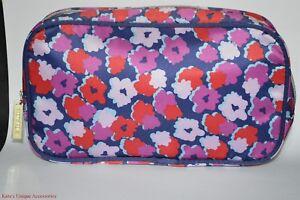 Estee Lauder Cosmetics & Toiletries Travel Bag Floral Print Makeup Case Pouch