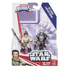 Playskool Héroes Star Wars Galactic Heroes-Rey (Jakku) y capitán phasma