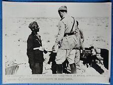 FOTO SECONDA GUERRA MONDIALE 1941 DONI ALLE TRUPPE  AFRICA SETTENTRIONALE 3/17