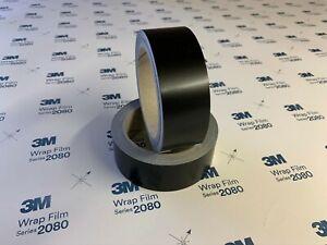 3M 2080 Satin Black Wrap Blackout Band Car De Chrome kit 10M Mini/Audi/BMW/Merc