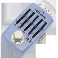 Hotone EQ-V 5 Band Graphic EQ Guitar Effects Pedal 888506010217 NEW