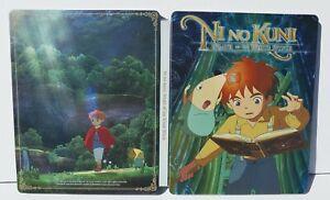 PS3 No No Kuni White Wizard Edition Collector's Tin Metal Case Game Holder rare