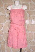 Robe rose en lin neuve taille 36 marque Rivières de Lune étiquettée à 169€ (v)