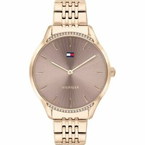 Tommy Hilfiger Women's  Rose Gold Stainless Steel Watch 1782212 RRP £125