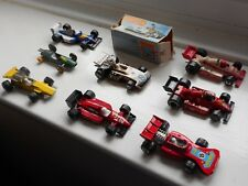 Matchbox 1-75 series racing cars job lot x8 '60s-'90s vintage Formula 1 Ferrari