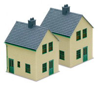 Peco LK-15 OO Gauge Station House Kit (Stone)