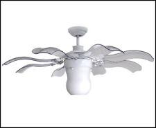 Vento Fiore 42 in. White Retractable Ceiling Fan