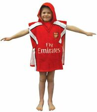 ARSENAL  F.C. HOODED TOWEL PONCHO FOOTBALL CLUB GENUINE LICENSED 60 X 120CM NEW
