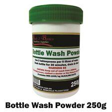 Bottle wash powder PBW - 250g - Brewing Detergent - Home Brew Hobbyist
