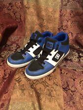 DC Kids Radar Skate Shoe Skateboard Youth Size 6 Laces Black Blue