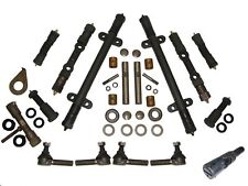 DELUXE Front End Kit 49 50 Kaiser Frazer 1949 1950 w/ King Pin Kit Tie Rod Ends