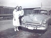 1950 Chevrolet Styline Chevy Classic Automobile Car Photograph Vintage H049