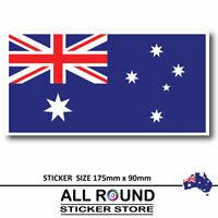 Australian Flag Car sticker bumper sticker, window sticker, 4x4