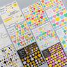 Kid DIY Star Heart Adhesive Scrapbook Paper Album Diary Decoration Craft Sticker
