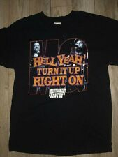 Montgomery Gentry Hell Yeah Turn It Up Right On Tour Concert Shirt Gildan L Mens