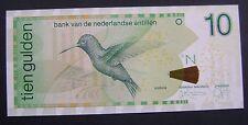 Nederlandse Antillen Netherlands Antilles 10 gulden 1998  1-1-1998 P. 28-A UNC