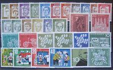 Bund Jahrgang 1961 - Auswahl aus Michel Nr. 347  - 374 , ** , postfrisch
