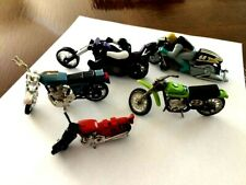 5 Vintage Lesney Hot Wheels Mattel Motorcycles Honda Arora Kawasaki Yamaha
