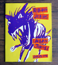 The Rolling Stones Urban Jungle Europe 1990 Official Tour Programme 32 Pages