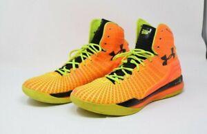 Under Armour UA Clutchfit Drive Micro G Orange Blaze Stephen Curry Men's 12 NBA