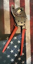Klein Tools 63800acsr 1 24 Quantity Ratcheting Cable Cutter Free Shipping