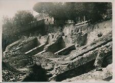 LYON c. 1930 - Fouilles Mise à Jour Amphithéâtre Rhône - PRM 362