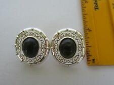 Sterling Silver Ireland Irish Connemara Filigree Earrings