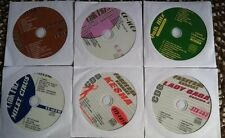 6 CDG KARAOKE DISCS GIRL POP/COUNTRY - MIRANDA LAMBERT,MILEY CYRUS TEEN POP 2000