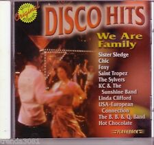 Disco Hits We Are Family Flashback CD HOT CHOCOLATE SYLVERS CHIC Rare OOP