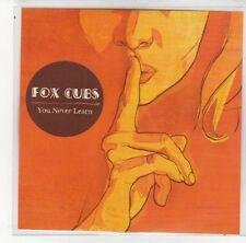 (DN19) Fox Cubs, You Never Learn - 2008 DJ CD