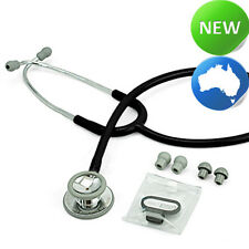 elitecare® Stethoscope - Dual Head BLACK (nursing | nurses | doctor)