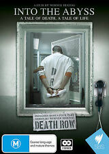 A Into The Abyss -A Tale Of Death Tale Of Life / Death Row (DVD, 2012, 2-Disc-R4