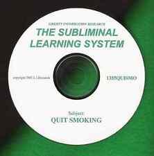 Stop! Quit Smoking Cigarettes? Patch? Gum? SUBLIMINALS!