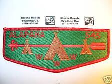 OA Alapaha Lodge 545,S-11a, 1980s Flap,Like S-1,CD,CB,353,98,Council,Valdosta,GA