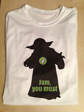 Grateful Dead Star Wars Tee Shirt -- Jamming Yoda -- Size L