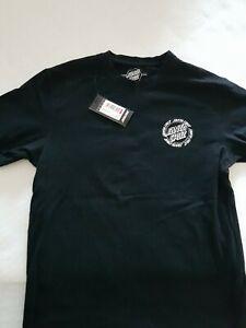 Santa Cruz Ringed T-Shirt Gr. M black wie neu