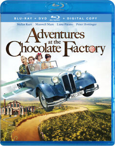Adventures at the Chocolate Factory (Blu-Ray + DVD + Digital Copy) NEW
