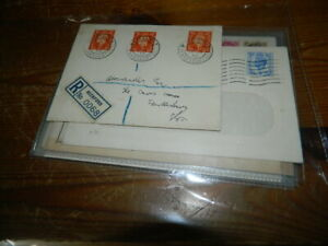 GB DEFINITIVES ON FIRST DAY COVERS 1938 - 1959