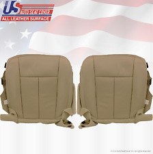 2011 2012 Ford Expedition Driver-Passenger Bottom Perforated Leather-Cover Tan