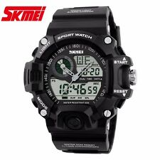 RELOJ SKMEI 1029 DUAL MILITAR DEPORTIVO DIGITAL LED Sport Watch 2 Time Zone