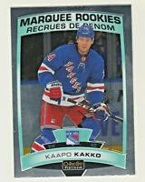 2019-20 OPC Platinum MARQUEE ROOKIES #199 KAAPO KAKKO RC Rookie New York Rangers